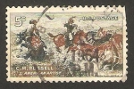 Sellos de America - Estados Unidos -  centº del nacimiento de charles m. russell