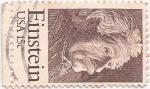 Stamps United States -  Einstein usa