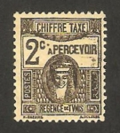 Stamps Tunisia -  máscara
