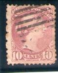 Sellos de America - Canadá -  Reina Victoria