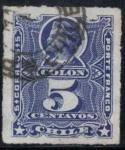 Stamps America - Chile -  Colon
