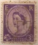 Sellos de America - Reino Unido -  e r postage revenue