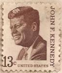 Sellos del Mundo : America : Estados_Unidos : John F. Kennedy