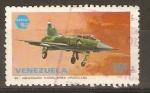 Stamps Venezuela -  CF - 5  JET   FIGHTER
