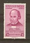 Stamps Venezuela -  SIMÒN   RODRÌGUEZ