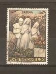Stamps Vatican City -  ESCULTURA   NIÑOS   DE  FÀTIMA