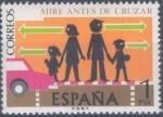 Sellos del Mundo : Europa : España : ESPAÑA 1976_2312 Seguridad Vial. Scott 1937