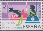 Sellos del Mundo : Europa : España :  ESPAÑA 1976_2314 Seguridad Vial. Scott 1939