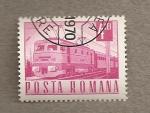Sellos de Europa - Rumania -  Tren pasajeros