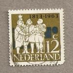 Sellos de Europa - Holanda -  150 Años independencia