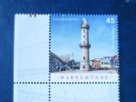 Sellos de Europa - Alemania -  Faro Warnemünde