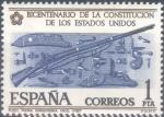 Sellos del Mundo : Europa : España : ESPAÑA 1976_2322 Conmemoración del bicentenario de la Constitución de los Estados Unidos. Scott 1947