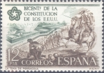Sellos del Mundo : Europa : España : ESPAÑA 1976_2325 Conmemoración del bicentenario de la Constitución de los Estados Unidos. Scott 1950