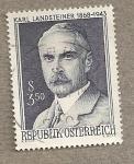 Stamps Europe - Austria -  Karl Landsteiner