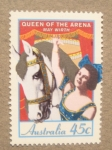 Stamps Australia -  El circo: Quenn of the arena May Wirth