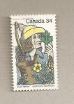 Sellos de America - Canadá -  Louis Herbert, farmaceútico