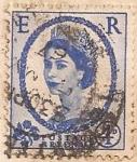 sellos de Europa - Reino Unido -  e r postage revenue