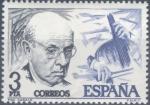 Sellos de Europa - España -  ESPAÑA 1976_2379 I Centenario de los nacimientos de Pau Casals y Manuel de Falla. Scott 2018