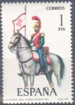 Stamps : Europe : Spain :  ESPAÑA 1977_2381 Uniformes militares. VII Grupo. Scott 2020