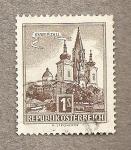Stamps Austria -  Iglesia Mariazell
