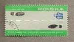 Stamps Europe - Poland -  Huellas zapatos