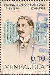 Sellos de America - Venezuela -  Centenario del Nacimiento de Rufino Blanco-Fombona (1874-1974).