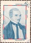 Stamps America - Venezuela -  Bicentenario del Nacimiento de Juan Lovera (1778-1841).