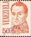 Stamps Venezuela -  Simón Bolívar.
