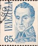 Stamps : America : Venezuela :  Simón Bolívar.