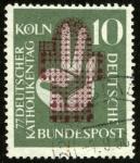 Sellos de Europa - Alemania -  ALEMANIA - Catedral de Colonia