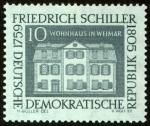 Stamps Germany -  ALEMANIA - Weimar clásico