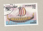 Stamps Asia - Afghanistan -  Barco fenicio mercante