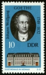 Stamps Germany -  ALEMANIA - Weimar clásico