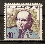 Stamps Czechoslovakia -  Personalidades Celebres.