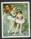 Stamps : America : Paraguay :  Compositor Claude Debussy