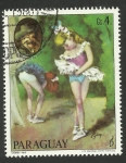 Stamps : America : Paraguay :  Compositor Johann Strauss