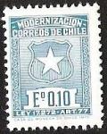 Stamps Chile -  MODERNIZACION CORREOS DE CHILE