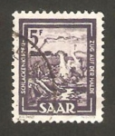 Stamps Germany -  saar - industria de la metalurgia