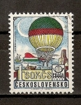 Stamps Czechoslovakia -  Historia de la Aviacion.