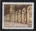 Sellos de Europa - Grecia -  Antigua ciudad de Corfú