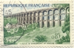 Stamps France -  Viaduc de Chaumont