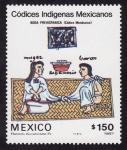 Stamps of the world : Mexico :  CÓDICES INDÍGENAS MEXICANOS