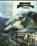 Stamps of the world : Peru :  Animales Prehistoricos - fósiles-