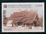 Sellos de Asia - Laos -  Ciudad de Luang Prabang