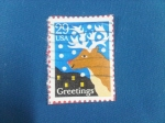 Stamps United States -  Greetings