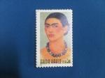Stamps : America : United_States :  FRIDA KAHLO-