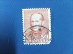 Sellos de Europa - Dinamarca -  CHRISTEN KOLD (1816-1966)