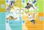 Stamps Argentina -  Atenas 2004