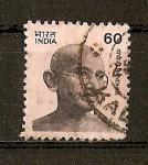 Stamps India -  Gandhi.