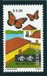 Stamps Mexico -  Reserva de la Biosfera de la mariposa monarca